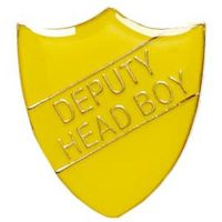 ShieldBadge Deputy Head Boy Yellow</br>SB020Y
